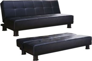 Delancey_Modern_Convertible_Futon_Couch_Sleeper_Black